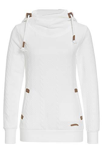 Hailys Damen Sweatshirt LS P HD Janette Offwhite M