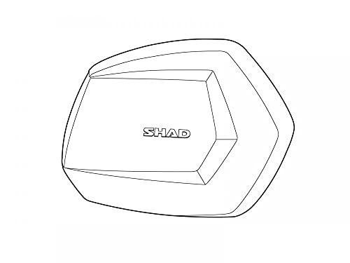 D1b35trr - Tapa Lateral Repuesto Derecha Aluminio Maleta sh35