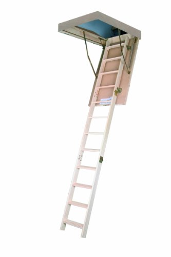 Bodentreppe Dachbodentreppe Stiege Fakro LWS 70x140cm Höhe 305cm Smart Holztreppe