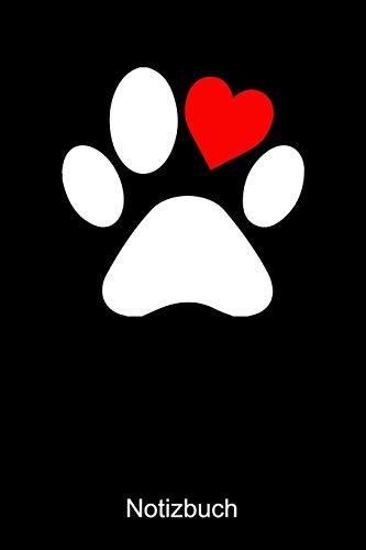 Hunde Notizbuch: Notizbuch A5 kariert 120 Seiten, Notizheft / Tagebuch / Reise Journal, perfektes Geschenk für Hundeliebhaber