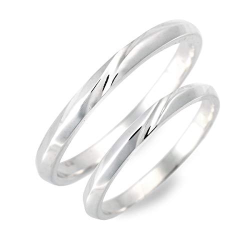 [ハートオブコンセプト] シルバー ペアリング 婚約指輪 結婚指輪 エンゲージリング ダイヤモンド レディー...