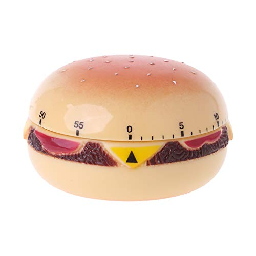 Yintiod Hamburger mechanische timer countdown alarm keuken kookreminder tool Home Decor