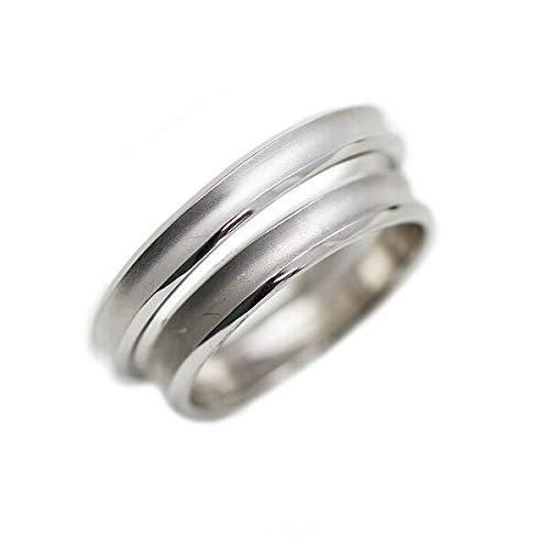 [京都ジュエリー工房] 結婚指輪 マリッジリング PT100 (pt10%) 甲丸 ペアリング 2本セット プラチナリング 「藍」 my178-pt100s メンズ17号・レディース7号