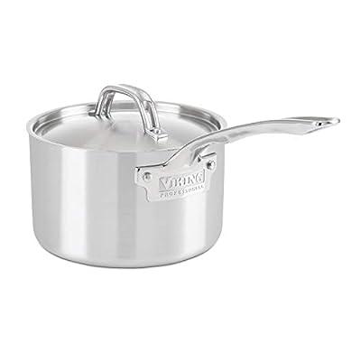 Viking Professional 5-Ply Stainless Steel Saucepan, 3 Quart