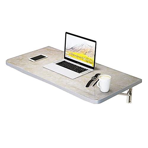 ZYQ Escritorio de Estudio Invisible para niños Escritorio de computadora Plegable de Pared para el hogar para Comedor, Estudio, Cocina, Cena, Barra de lavandería (Color : C, Size : 90 * 50cm)