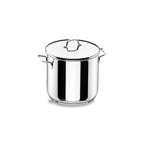 Lacor - 90125 - Olla Super Alta Con Tapa Gourmet 24cm Inox