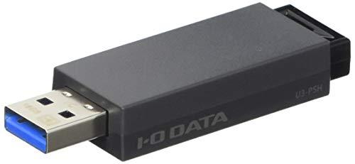 アイ オー データ機器 USB3.0/2.0対応 ノック式USBメモリー 16GB ブラック U3-PSH16G K 1個