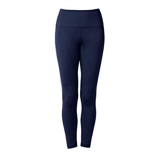 Dtuta Hosen Yoga Pants, Damen Sport Leggings mit Seitenstreifen,Blickdichte Leggings Hosen Yoga Leggings Sporthosen für Damen Elastische Leggings Sporthosen