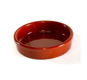 Terrissaires - Cazuela, Tonschale Braun Traditionell - 13 cm Durchmesser