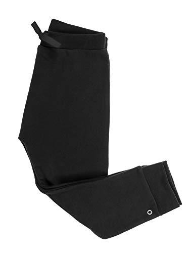 Orbasics Orbasics Unisex Kinder Baby Hosen Sweatpants, GOTS zertifizierte Bio Baumwolle, Premium Qualität (2/3 Jahre (98), Cosmic Black)