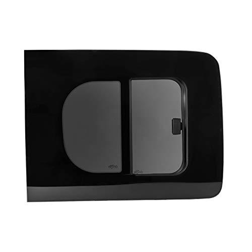wamovo Schiebefenster Glasfenster für Caddy rechts ab Bj 08, Echtglas, ca 70,4x54,5 cm