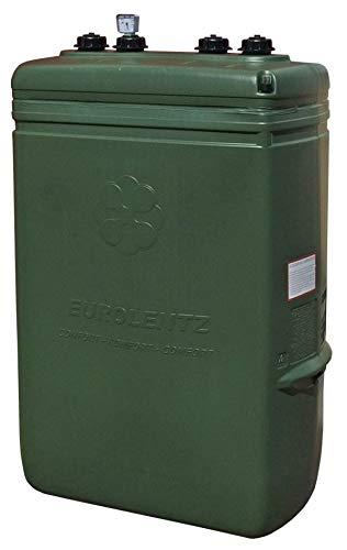 SOTRALENTZ Depósito Gasoil 1000 litros Doble Pared (Estrecho) + Kit Instalación Caldera