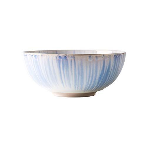 Mingxuan Große Suppenteller Haushalt Keramik rutschfeste Feste Hohe Temperatur Gebrannt Instant-Nudeln Snack Salat Obstschale Geschirr (Size : B-7.5inches)