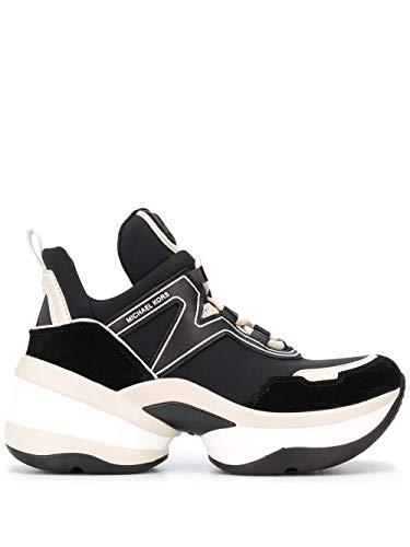 Michael Kors Luxury Fashion Dames 43R0OLFS1D001 zwart sneakers | Lente zomer 20