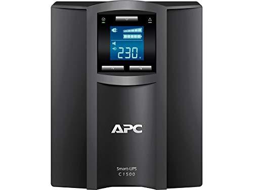 APC Smart-UPS - SMC1500I - Gruppo di continuità (UPS) 1500VA Modello Tower (Line Interactive, AVR, 8 uscite IEC-C13, Software di Schutdown Powerchute)
