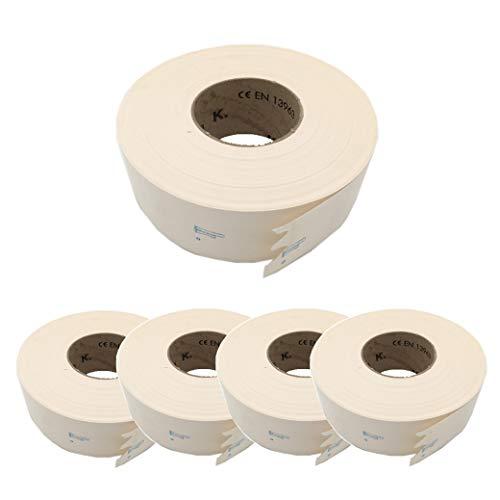5 St. KNAUF® Papier Fugendeckstreifen - Rolle a' 75m; Breite: 5cm - Papierbewehrungsstreifen, Fugenband