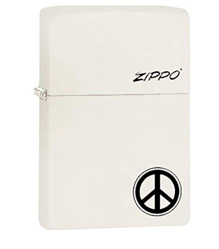 Zippo Lighters Windproof Pocket Collectors (Peace Sign)