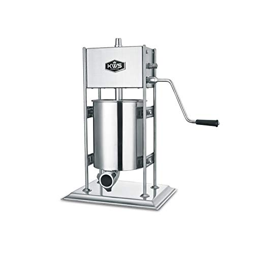 KWS Professional Commercial Sausage Stuffer Maker ST-10L/22LB Heavy Duty Gear System
