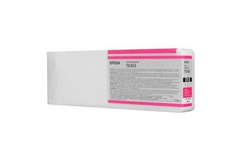 Epson Stylus Pro 9890SpectroProofer UV Original de tinta C 13T 636300, C13T636300/t636, T6363Magenta
