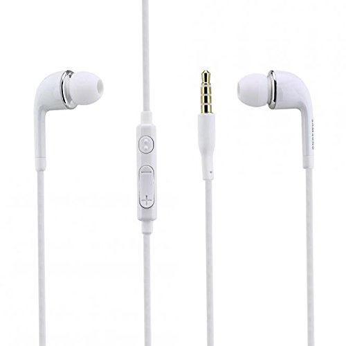 Samsung Original Headset EO- EG900BW in Weiss für I8160 Galaxy Ace 2 InEar In-Ear Kopfhörer Ohrhörer Ohrstöpsel 3,5mm Stecker Stereo Sound Bulk verpackt