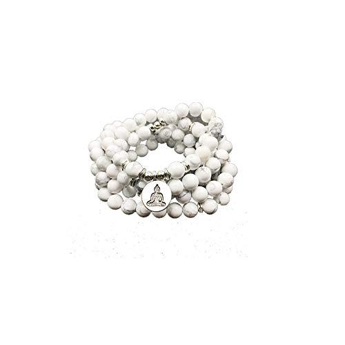 Pulsera de señora de diseño de moda 108 Pulsera o collar de loto de color para regalo de...