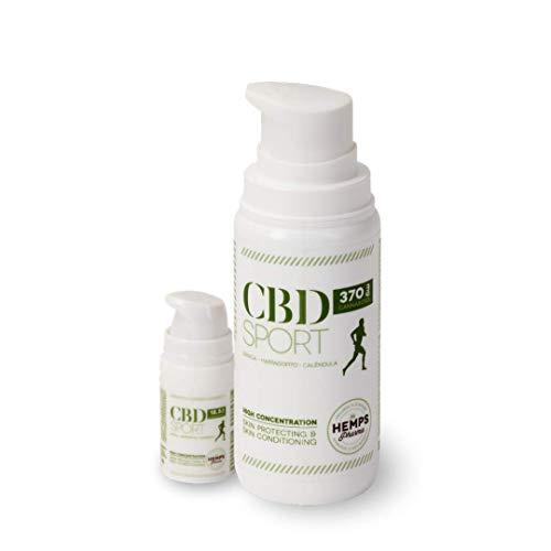 Hemps Pharma - PACK CBD SPORT   Crema con CBD (370 mg de Cannabidiol e