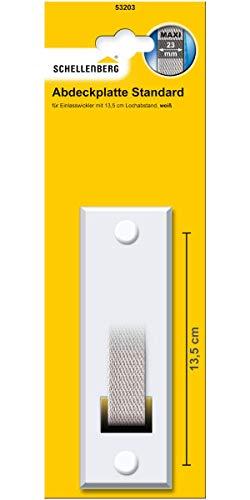 Schellenberg 53203 Mosquitera para ventanas, Blanco, Lochabstand 13,5 cm