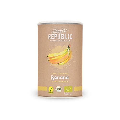 Bio-Fruchtpulver Banane, 150 g, Für Bananen Shakes, Organic Food, Vegan