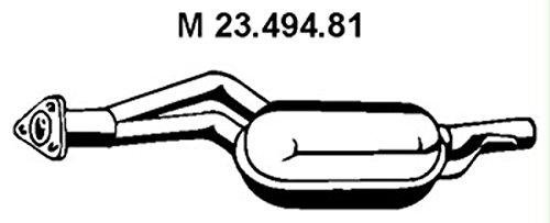 Eberspächer 23.494.81 Mittelschalldämpfer