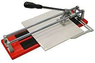 TOOLSCENTRE Stainless Steel 26 inch Ceramic Tile Cutter with Unique Comfort Grip Handle (Red)