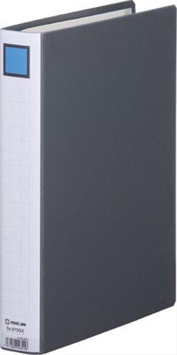 キングジム キングファイル G GXシリーズ A4タテ とじ厚30mm背幅46mm 黒 片開きパイプファイル 973GXクロ 10冊