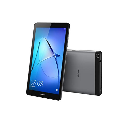 Huawei MediaPad T3 Android Tablet with 7' IPS Display, Quad Core, Android M + EMUI, WiFi Only, Space Gray