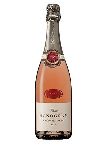 ROSÉ Franciacorta DOCG Brut - Monogram - Vino rosato spumante - Bottiglia 750 ml