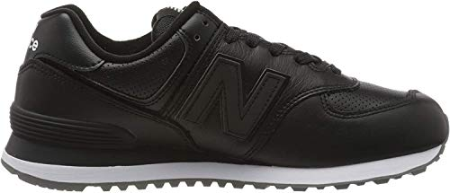 New Balance 574v2, Zapatillas para Hombre, Negro (Black/White Black/White), 42.5 EU