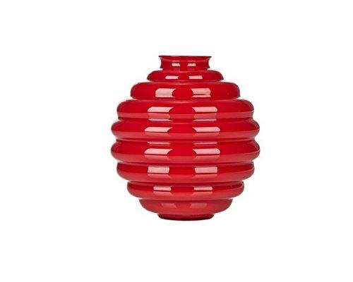 VENINI Dèco Vaso Mini opalino Rosso Corallo Design Napoleone Martinuzzi 70708