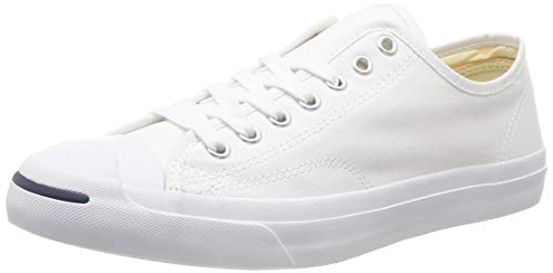 Converse Jack Purcell CP Canvas Low Top, White/White, Men's 11.5 Medium