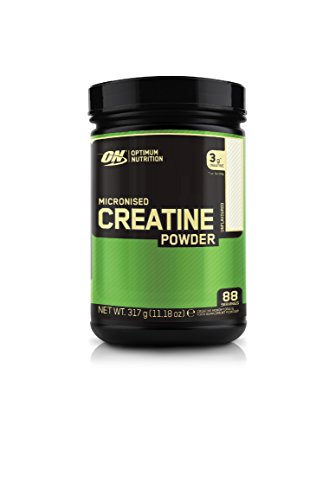 Optimum Nutrition Micronised Creatine Monohydrate formulated for Muscle Development by ON - Unflavoured, 88 Servings, 317 g
