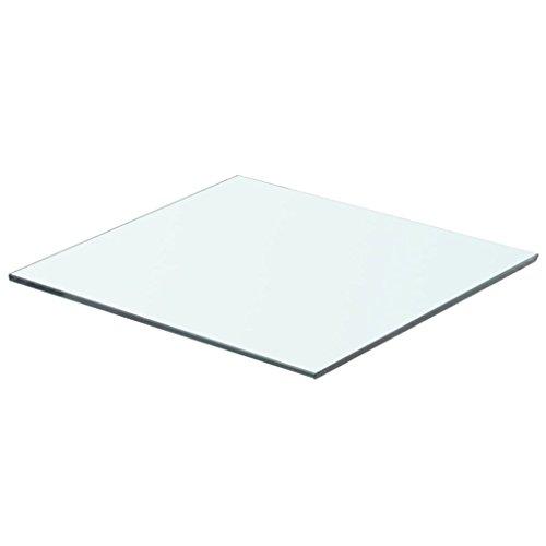 vidaXL Glasboden Glasscheibe Glasplatte für Glasregal Transparent 40 cm x 30 cm