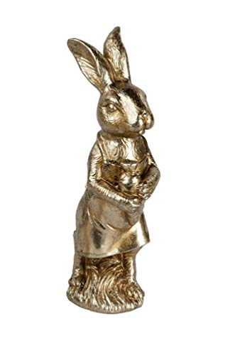 KLP Hase Osterhase Oster Deko Garten Tier Figur Osterei Ei Skulptur Kaninchen Statue