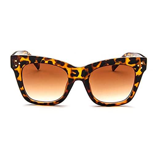 YTYASO Gafas de Sol rectangulares Gafas de Sol de Moda con Montura de Lente degradada para Mujer