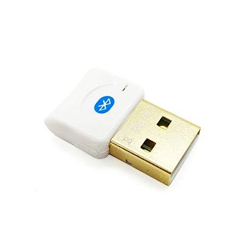 Adaptador Bluetooth 4.0 USB Mini Dongle para Notebook PC Computador Sem Bluetooth Integrado JCBLU01 Branco