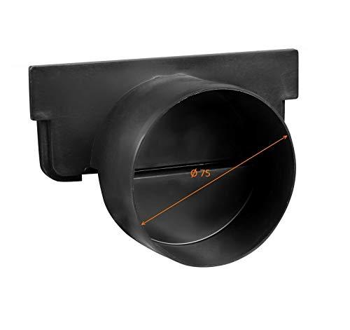 JeCo - Seitlicher Ablauf - Höhe 55 mm