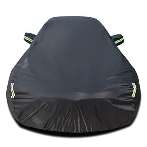 Zfggd Cubre completo de coche compatible con For NISSAN 370Z protección for cualquier estación automática del protector impermeable completo las cubiertas exteriores de automóviles Sun refugios Protec