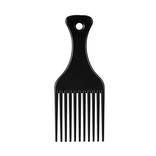 EUROSTIL Haarkamm mit 11 Fächern, mittelgroß, 16 cm, 1 Stück, Unisex, Erwachsene, Schwarz, Einheitsgröße
