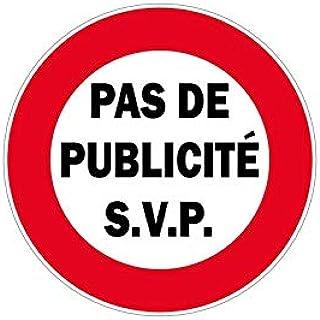 """Zelfklevende stickers, zelfklevend, bord""""No Pub"""""""