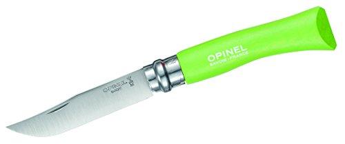 Opinel Taschenmesser Größe 7 Couteau Mixte, Bois Dur Vert, N°7