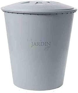 DEPOSITO POLIETILENO agua potable 500 LITROS. Diámetro 100 cm, Alto 110 cm. Incluye depósito y tapadera con dispositivo de seguridad contra el viento.