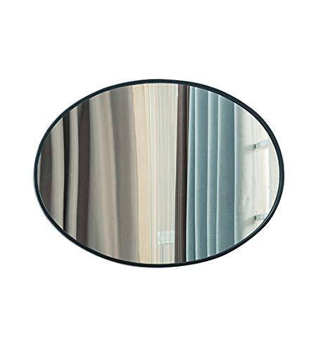 Miroir mural rond de salle de bains Miroir rond décoratif mural de salle de bains (taille : 40×60cm)