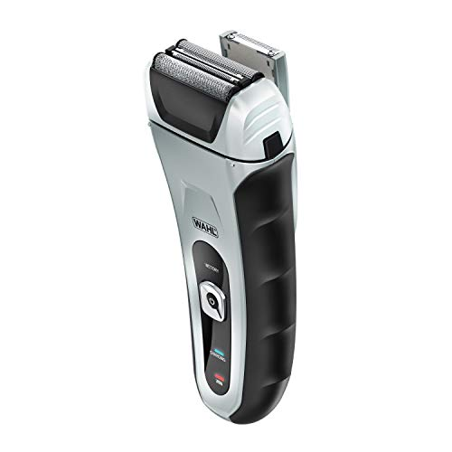 Price comparison product image Wahl Speed Shave,  Rechargeable Lithium Ion Wet / Dry Waterproof Facial Hair Shaver With Speedflex Precision Foils 7061-500