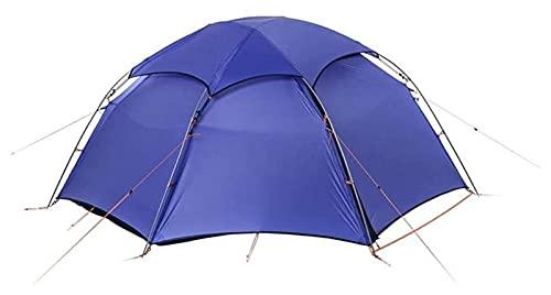 Tienda de campaña al aire libre, Tienda de campaña al aire libre Hexagonal Ultralight Tienda de la tienda Senderismo Escalada a prueba de viento A prueba de lluvia Aluminio Rod Color impermeable: Verd
